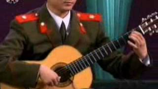 North Korea orchestra Classic Guitar solo
