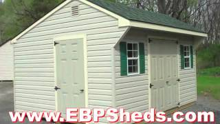 Let Eastern Building Products Craft Your Next Shed