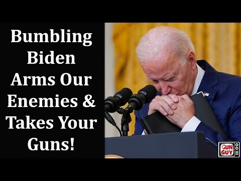 Biden Surrendered U.S. Arms To Terrorists - Wants to Disarm Americans.