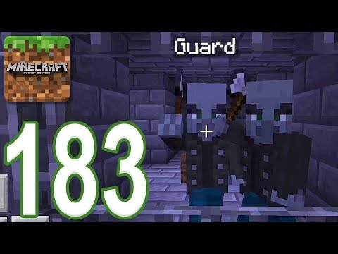 Minecraft: PE - Gameplay Walkthrough Part 183 - Dungeon Escape V2 (iOS, Android)