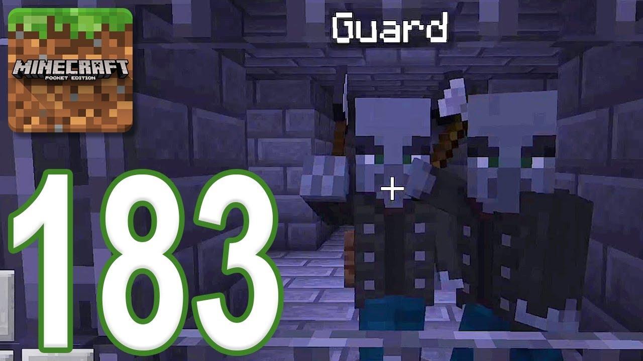 Minecraft Pe Gameplay Walkthrough Part 183 Dungeon