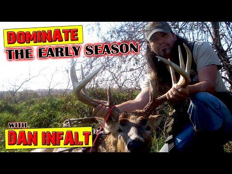Dan Infalt Podcast Early Season Tactics for Big Bucks   Episode 13   Going 4 Broke Outdoors Podcast
