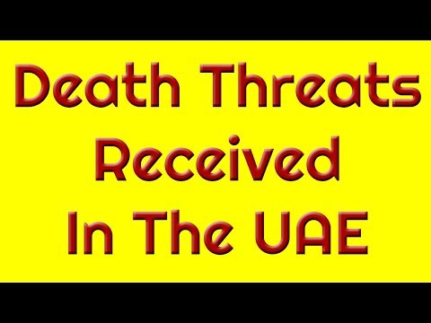 Death Threats To Leading Journalist In The UAE