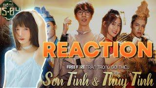 [FREE FIRE REACTION] Cảm Xúc Của Linh Khi Xem Free Fire Sơn Tinh Thuỷ Tinh 2020 hế hế =))))