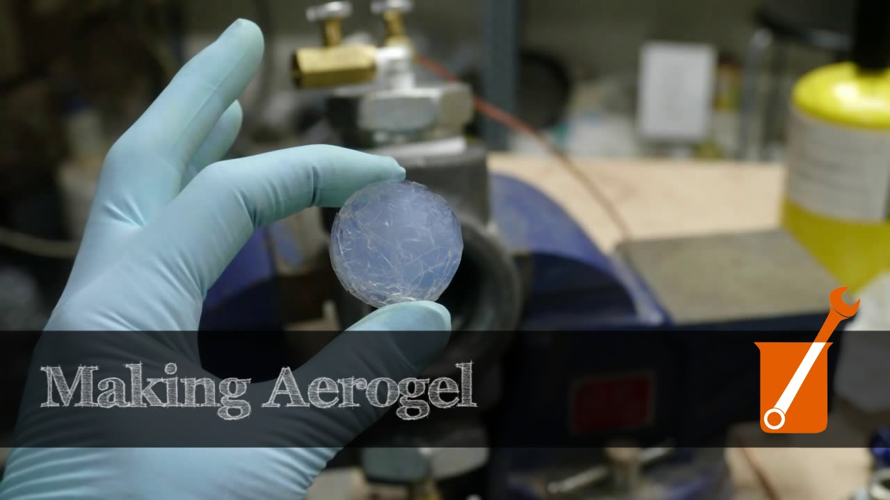 making silica aerogel at home youtube. Black Bedroom Furniture Sets. Home Design Ideas