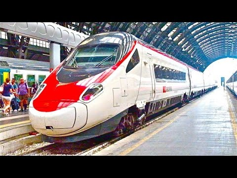 SBB CFF FFS EuroCity 36 train ride: Milan to Geneva