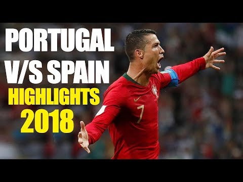 Portugal Vs Spain -  HIGHLIGHTS 2018 FIFA World Cup Russia MATCH 3  Poon Poon