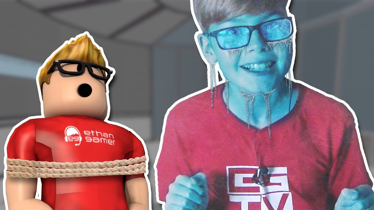Ethan Is Frozen Roblox Youtube