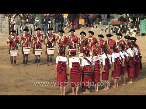 """""""Moatsu Mong"""" song performed by Ao Naga, Nagaland"""