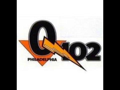 WIOQ Q102 Philadelphia - First Day - Mark Driscoll - Jan 1989