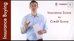 Insurance Score vs Credit Score (and the impact on insurance premiums)