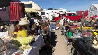 Flea Market Walkabout, Quartzsite Arizona