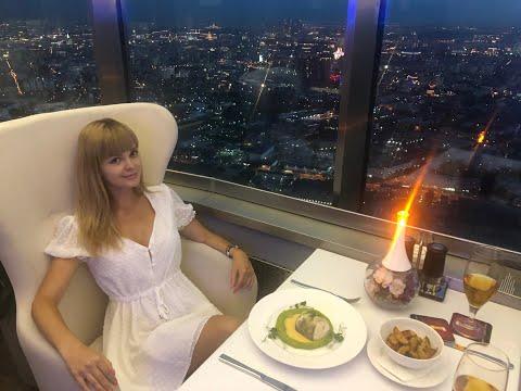 Останкино. Ресторан Седьмое Небо. Панорама всей Москвы за 60 секунд. Сделал предложение.