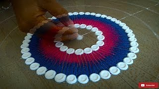 Beautiful Rangoli Design For Diwali | Diwali Kolam | Diwali muggu