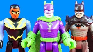 Imaginext DC Super Friends Series 4 Blind Bags Batman Meets His Dad + Super Boy & Flashpoint Toys