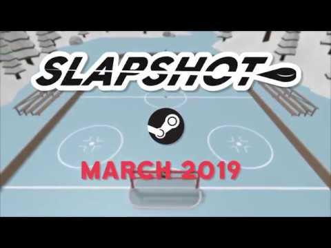 Slapshot New Pc Hockey Game Steam Launch Trailer Youtube
