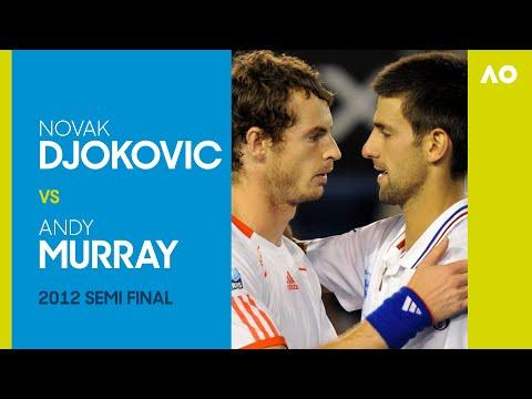 Novak Djokovic V Andy Murray - Australian Open 2012 Men's Semi Final   AO Classics