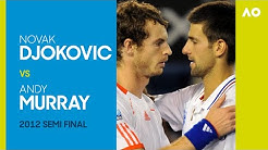 Novak Djokovic v Andy Murray - Australian Open 2012 Men's Semi Final | AO Classics