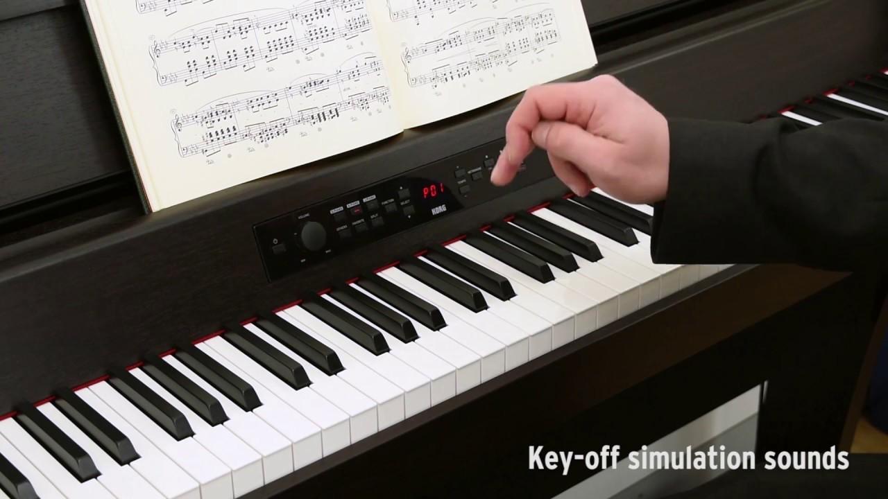 korg g1 air digital piano youtube. Black Bedroom Furniture Sets. Home Design Ideas