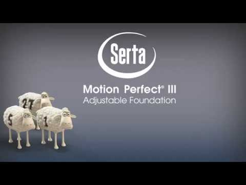 Serta Motion Perfect III Adjustable Base at Quality Bedding and