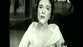 JULIE ANDREWS: a 1956 live performance of I Could Have Danced All Night