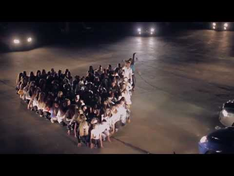 Видео, Свадебный переполох Волгоград - Самый массовый флешмоб ФМ2013