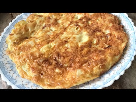Spanish omelette recipe very easy and tasty breakfast recipe