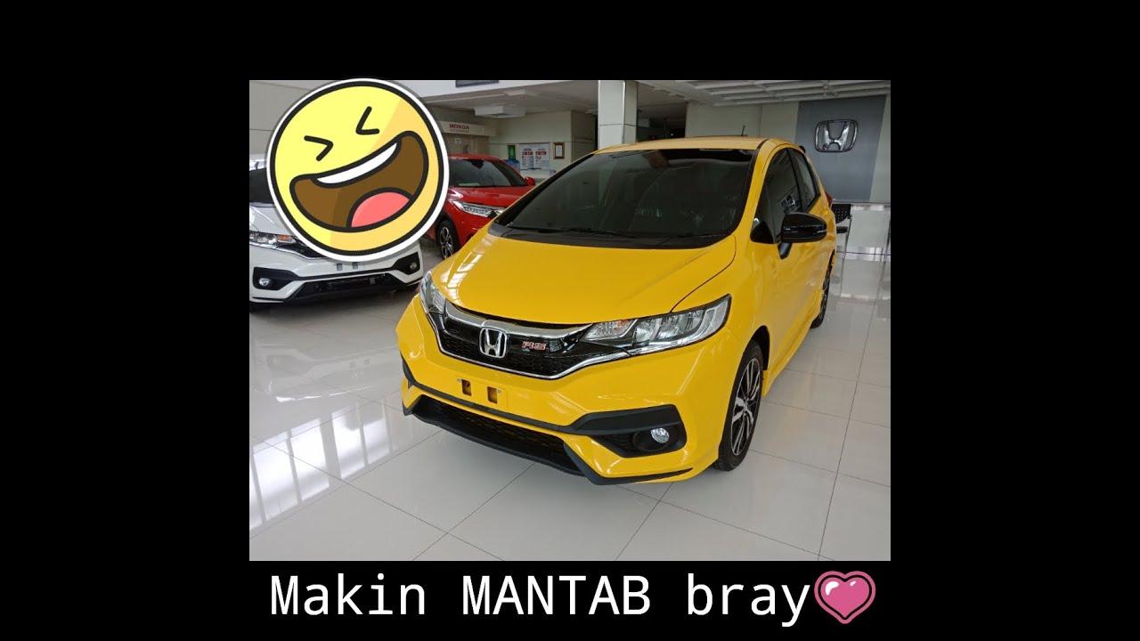 Warna Baru Honda Jazz Carnival Yellow Youtube