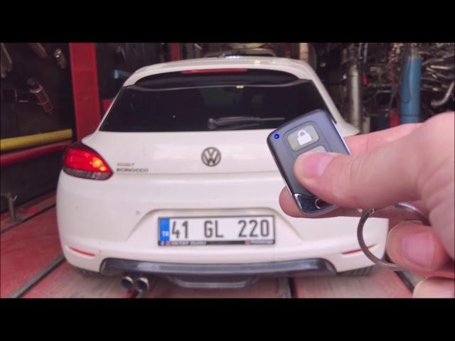 VW SCIROCCO KUMANDALI VAREX EGZOZ SESİ