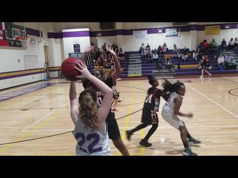 Madras Middle school girls basketball