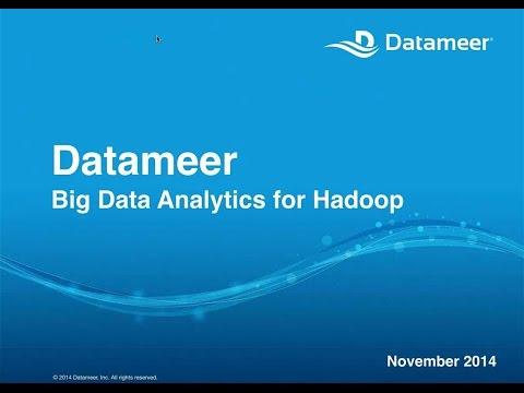 Datameer - Big Data Analytics for Hadoop