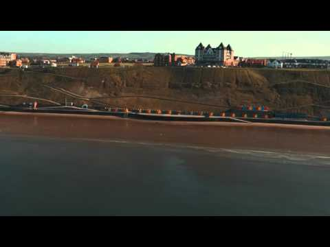 Whitby -North Yorkshire (Slow motion footage)
