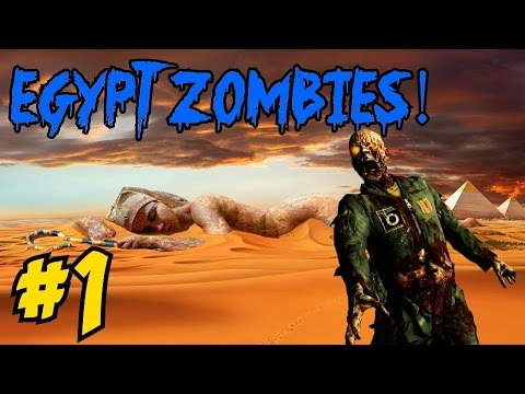 ★ EGYPT ZOMBIES [1] ★ 3 Pyramids, 3 Easter Eggs! (CoD World at War Custom Zombies Map/Mod)