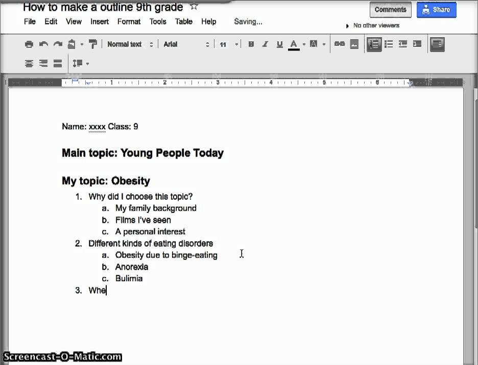 Making an outline youtube for How to make a paper design