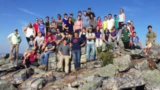 Blue Ridge Bedlam:  Geo Dept Trip Fall 2015