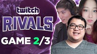 CAN WE COME BACK? TWITCH RIVALS SHOWDOWN | Game 2/3 w/Boxbox, Locodoco, Starsmitten & Seanic