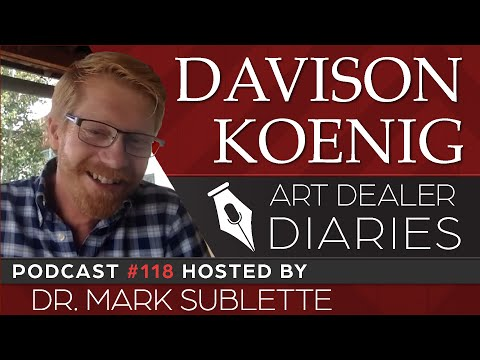 Davison Koenig: Director/Curator Of The Couse-Sharp Historic Site - Epi. 118, Host Dr. Mark Sublette