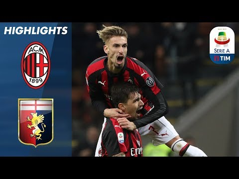 Milan 2-1 Genoa | Romagnoli Wins It in the 91st minute! | Serie A