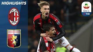 Milan 2-1 Genoa | Romagnoli Wins It in the 91st minute! | Serie A