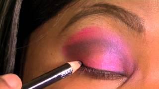 Pink and Purple Cheetah Print Eyes Thumbnail