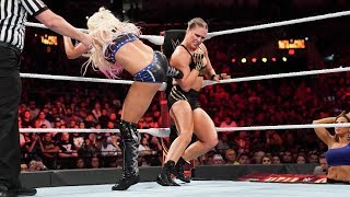 Ronda Rousey vs Alexa Bliss Womens Championship - WWE Hell In A Cell 2018 Highlights