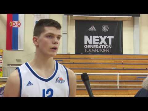 ANGT Belgrade: Interview with Tarik Biberovic, U18 Spars Ziraat Bank Sarajevo
