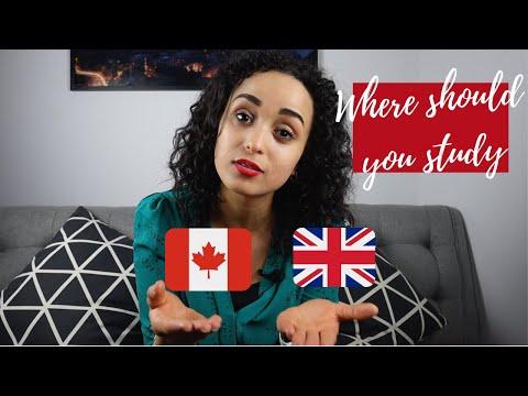 canada vs uk for international students