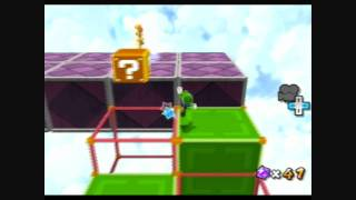 Super Mario Galaxy 2 - Beat Block Galaxy - Green Star 2