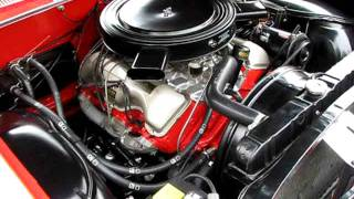 1962 Impala SS 409 Dual Quad 4 Speed Engine Running