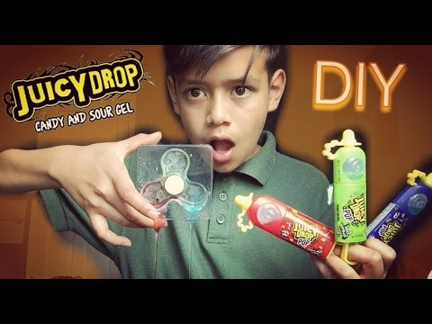 DIY JUCIY DROP POP FIDGET SPINNER!!!