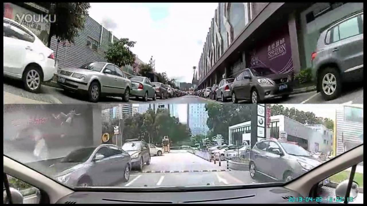 360 Degree Car Security Camera With 4 Lens Youtube