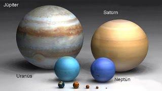 AY İNANMIYORUM - İnanılmaz Büyüklükteki  Yıldızlar Ve Gezegenler / En Büyük gezegenler