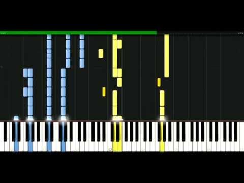 Melanie C - Here it comes again [Piano Tutorial] Synthesia | passkeypiano
