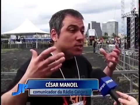 Rádio Caiçara comemora 50 anos com grande festa em Porto Alegre | Jornal da Pampa | 17/10/2016